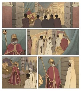 El rey Negus de Abisinia