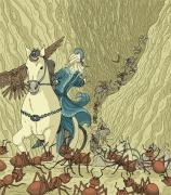 El rey Salomón y las hormigas