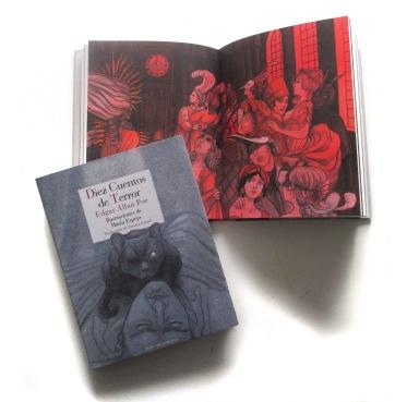 """""""Diez cuentos de Terror"""" de Edgar Allan Poe. Reino de Cordelia. 2017."""
