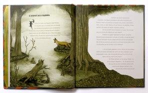 """Doble página de """"El libro del misterio"""""""