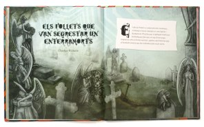 """Doble página para """"El gran libro del misterio"""""""